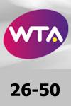 WTA 26-50 Tennis